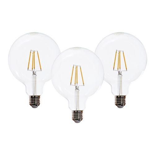 Westlight Glühbirne LED E27 6W groß 3er Pack